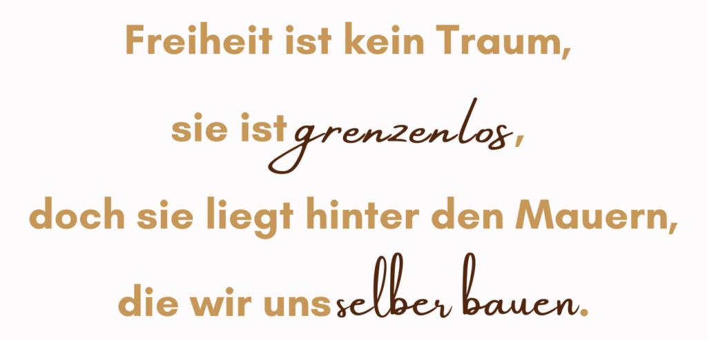 Janine Gruner Zitat